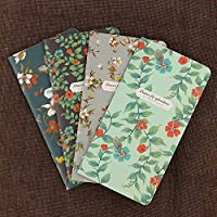 2pcs ButterfliesシリーズノートブックOffice Supplies日記帳DIYレトロクラフト紙空白のメモ帳