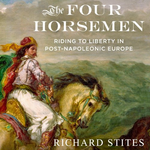 The Four Horsemen audiobook cover art