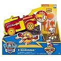 PAW PATROL Mighty Pups Flip & Fly Marshall, Color Rosso (Spin Master Toys Ltd 6055192) por Spin Master Toys Ltd