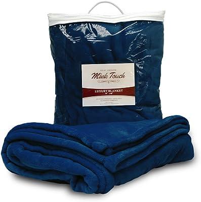 c80104dd5fee Amazon.com  Vogue Luxury Faux Fur Sherpa Reversible Throw Blanket 50 ...