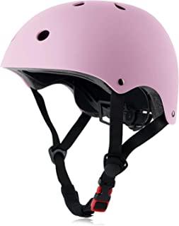 Skateboard Bike Helmet CPSC مجاز سبک تنظیم شده ، چند منظوره برای دوچرخه سواری دوچرخه سواری اسکوتر ، 3 اندازه