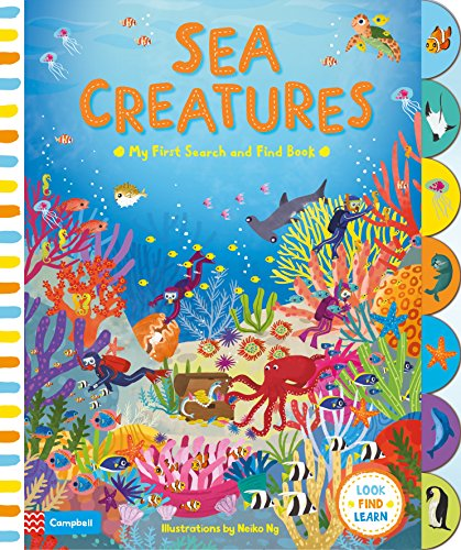 Sea Creatures (My First Search and Find, Band 4)