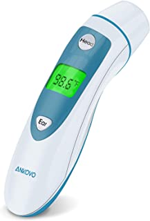 ANKOVO Thermometer for Fever Digital Medical Infrared Forehead and Ear Thermometer for..