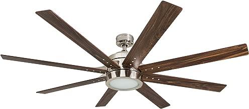 Honeywell Ceiling Fans 50608-01 Xerxes Ceiling Fan, 62, Brushed Nickel