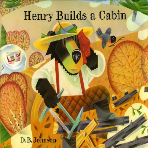 Henry Builds a Cabin audiobook cover art