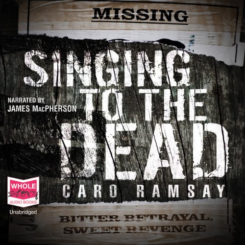 Singing to the Dead audiobook cover art