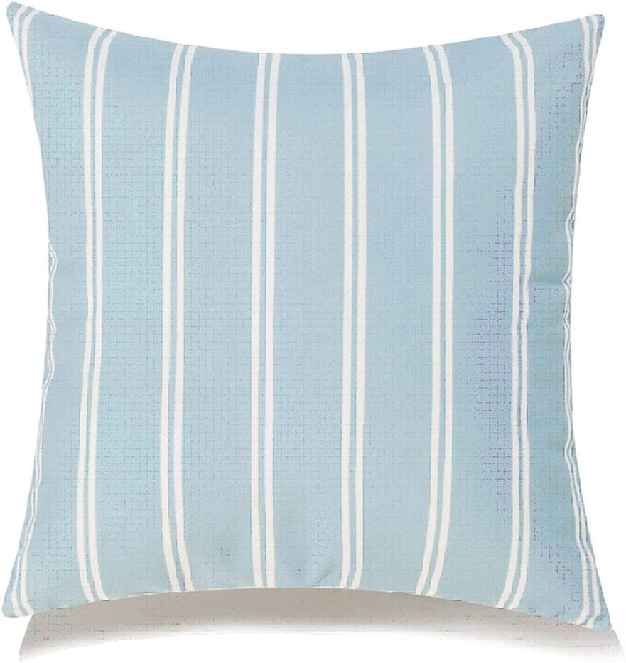 Blue and White Cushion Super Special SALE held Sale special price Stripes E