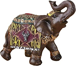 Fashioncraft Feng Shui Elephant Statue Wealth Lucky Elephant Figurines Office Home Decor Housewarming Gift