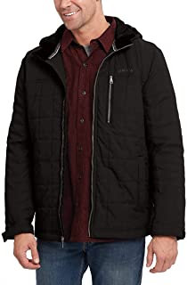 Orvis Men's Hooded Quilted Jacket (XXL, Black)