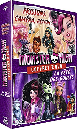 Coffret monster high : la fête des goules ; frissons, caméra, action ! [FR Import]