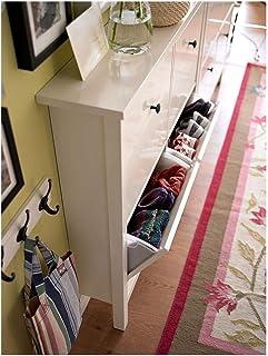 Armario IKEA HEMNES con 4 compartimentos 107x22x101 cm blanco