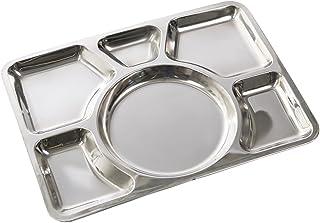 Placa Canteen s/steel 6-compartimento