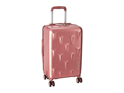 Hedgren 20 Carve Small Carry-On Spinner (Blush) Carry on Luggage