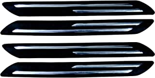 Autofact Car Accessories - Bumper Protector with Double Chrome Strip - for Maruti Ciaz - (Set of 4)