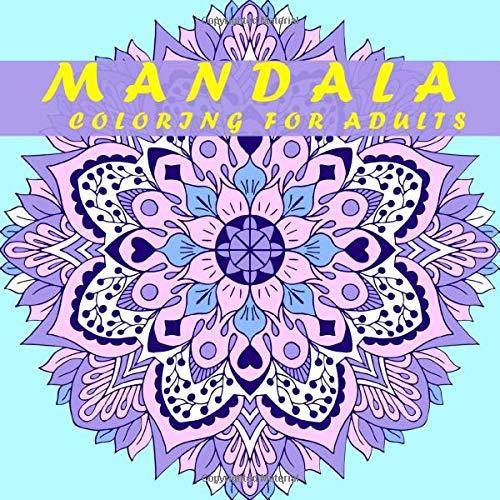 MANDALA COLORING FOR ADULTS: 30 マンダラ 塗り絵 ,(花々のマンダラぬりえ) ,大人の塗り絵 ,/抗ストレス/ぬりえページをリラックス/塗り絵 大人 ストレス解消とリラクゼーションのための。