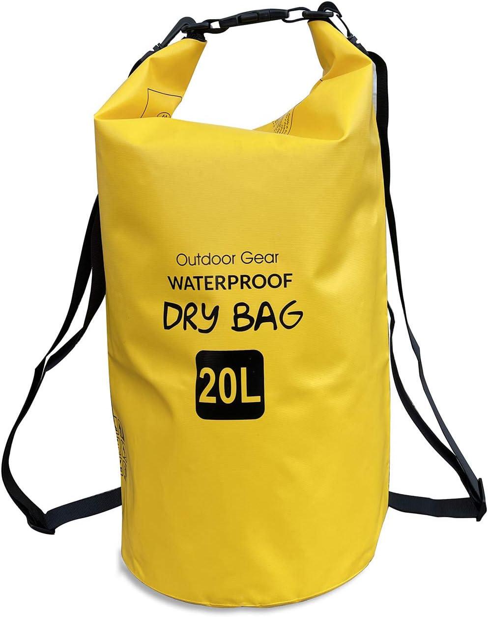 EliteShield Waterproof Heavy Duty Free Shipping New Regular discount Dry Backpack Clos Bag Roll Top