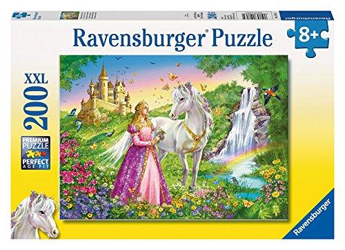 Ravensburger 126132 Puzzel Prinses Met Paard - Legpuzzel - 200 Stukjes