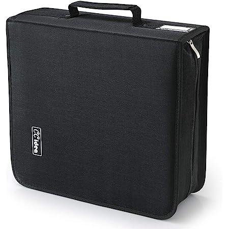 264 Capacity CD /DVD Storage Case Holder ,Media Storage, Binder By CCidea ( Black )