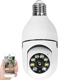 WANYANG Câmera IP WiFi, 1080P Câmera de Segurança Base E27 com Visão Noturna, Camera Vigilancia para Celular Android / IOS...