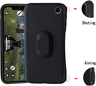 Zcogo Phone Case Game Controller for PUBG,Bluetooth Phone Case Wireless Phone Case L1R1 Game Trigger Ultra-Thin Mobile Case for iPhone(iPhone X/XS)