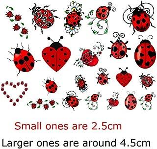 Ladybug c2 Temporary Tattoos