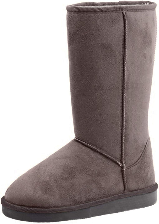 Reneeze W-Rose-1 Women Mid-Calf Boot- Grey