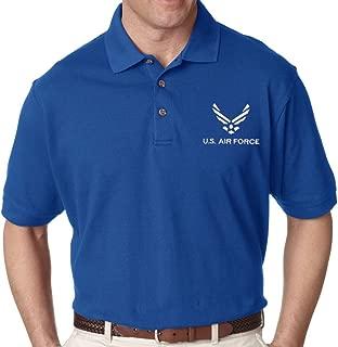 USAF U.S. Air Force Embroidered Polo Shirt