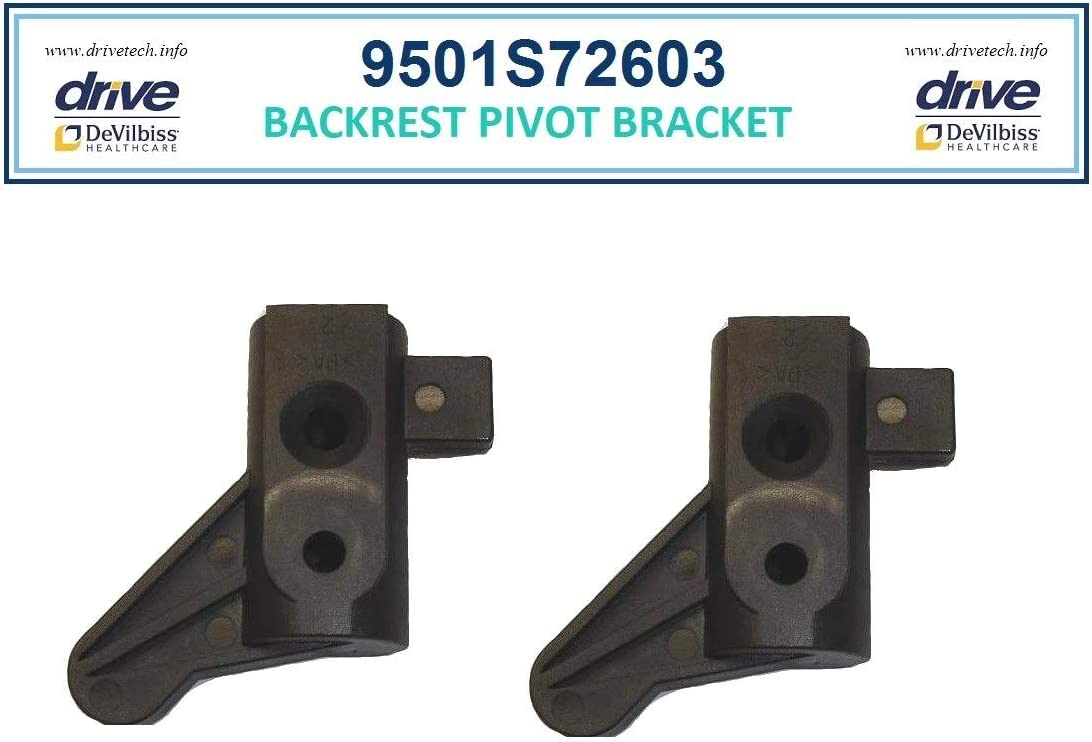 Backrest Pivot Bracket 1 pr - New item 2M Mode Serial Sales for sale Drive # Walkers