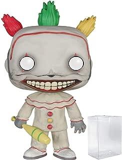 Funko Pop! TV: American Horror Story- Season 4 - Twisty the Clown Vinyl Figure (Bundled with Pop BOX PROTECTOR CASE)