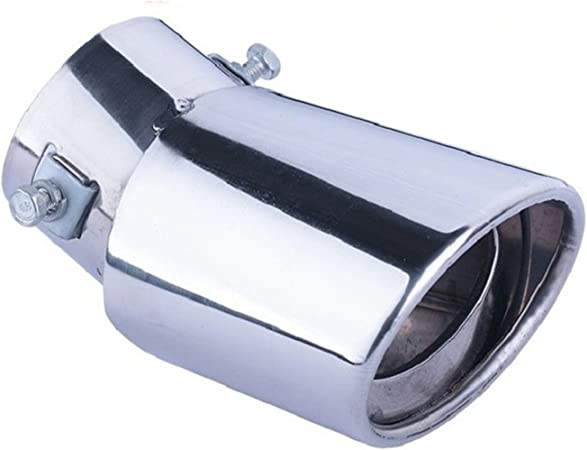 """Universal Stainless Steel Car Exhaust Tail Muffler Tip Pipes Fit Diameter 2.3"""" \"""