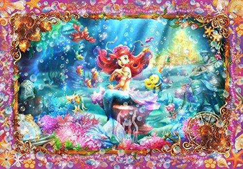 1000 Piece Little Mermaid Belle Sirène (Ariel) & lt; Fanta graphiques Tikal Art & gt; D-1000-419