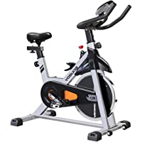 Yosuda L-001A Indoor Cycling Bike Stationary with Ipad Mount & Comfortable Seat Cushion (Gray)