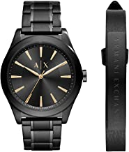 Armani Exchange Nico Stainless Steel Three-Hand Watch