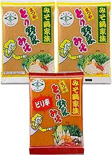 まつや とり野菜みそ200g 3袋セット (レギュラー2+ピリ辛1)