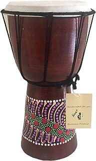 Jive Djembe Drum Bongo Congo African Wood Drum - MED Size- 12