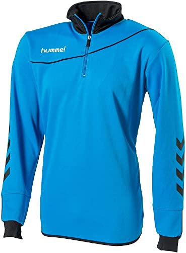 HUMMEL Sweat 1 2 Zip Corporate Methyl bleu L
