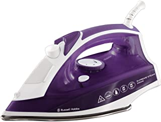 Russell Hobbs Supreme Steam Traditional Iron 23060, 2400 W, Purple/White