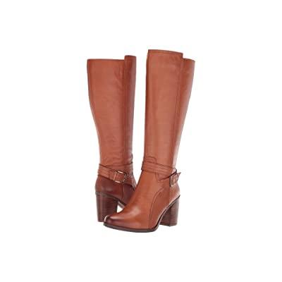Naturalizer Kelsey Wide Calf (Light Maple Leather) Women