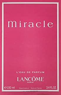 L A N C O M E Miracle Perfume for Women EDP 100 ml 3.4 Oz by Lancome