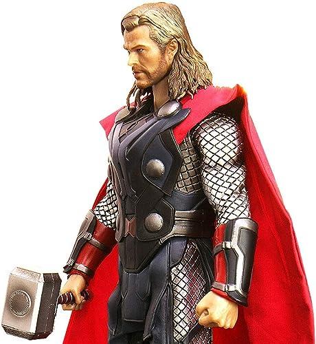 MI ER- Crazy Toys Figur Marvel Legends Figuren Thor Hot Toys PVC 1 6. Sammler Figur Modell Spielzeug 29,5 cm