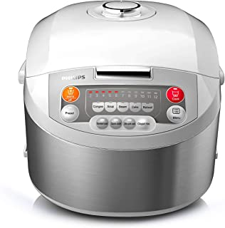 Philips Viva Collection Fuzzy Logic Rice Cooker 1.8L [HD-3038]