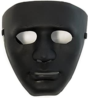 Hiphop Jabbawockeez Cosplay Costume Halloween Masquerade Mask Black