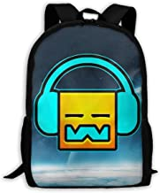 sghshsgh Mochilas Tipo Casual,Backpack for Men Women,Geometry Dash Robtop Games Backpacks Hiking Laptop Backpack Travel Large Shoulder Bags for School Shopping Outdoor Sports