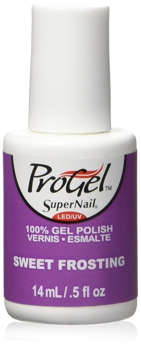 アナウンサーアナウンサー排出SuperNail ProGel Gel Polish - Sweet Frosting - 0.5oz / 14ml
