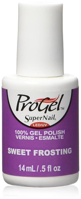 ウェーハ大砲タイマーSuperNail ProGel Gel Polish - Sweet Frosting - 0.5oz / 14ml