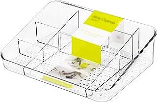 KDOAE Boîte de Rangement de Maquillage Boîte de Rangement en Plastique Multi-Compartiment Boîte de Rangement cosmétique St...
