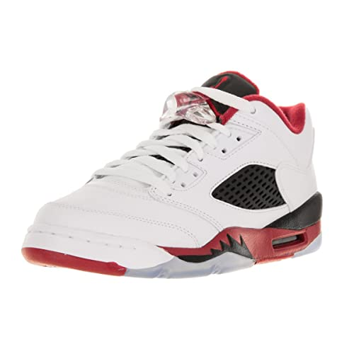 size 40 80ad6 776f6 Jordan Men s Air 5 Retro Low (Gs) Fire Red