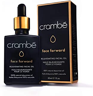 Crambé Face Forward Rejuvenating Abyssinian Facial Oil - MADE IN CANADA - 100% Pure & Natural Crambe Skincare Oil For Skin Hair & Nails - 2019 New Best Skincare Oil