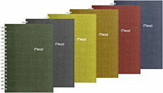 Mead Spiral Notebook, 1 Subject, College Ruled Paper, 120 Sheets, 9-1/2