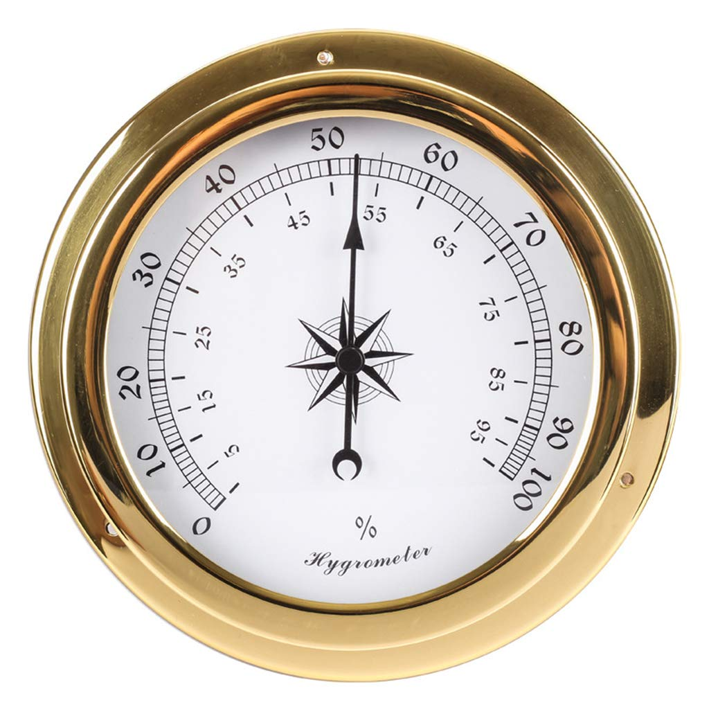 Milue 145mm Wall Mounted Barometer In stock Hygrometer Thermometer Tidal Max 46% OFF